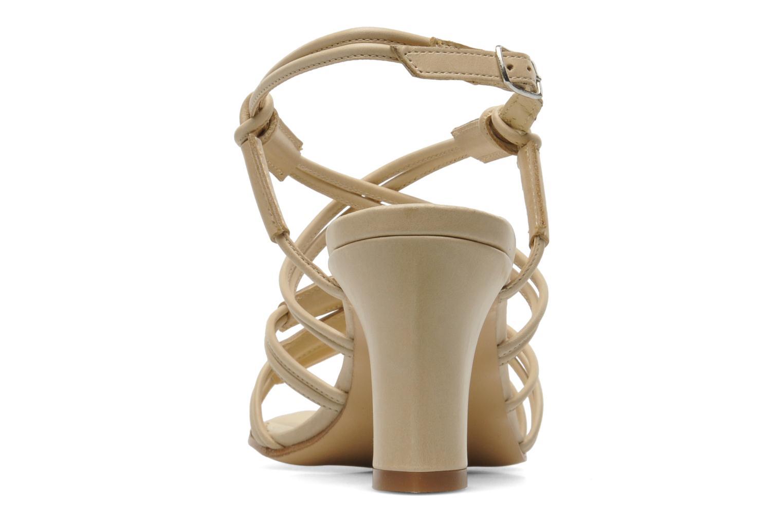 Sandales et nu-pieds Elizabeth Stuart Bakou Beige vue droite