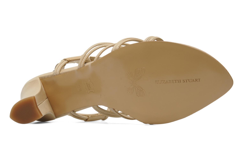 Sandales et nu-pieds Elizabeth Stuart Bakou Beige vue haut