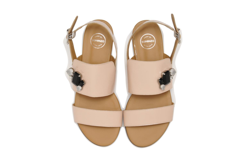 Sandalen Made by SARENZA Chamallow #2 beige schuhe getragen