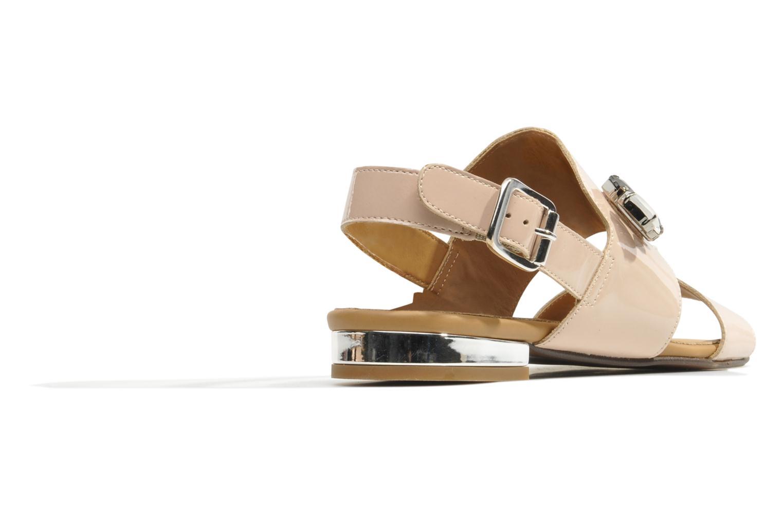 Sandales et nu-pieds Made by SARENZA Chamallow #2 Beige vue face