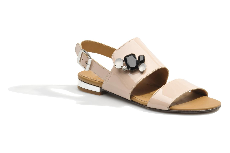 Sandales et nu-pieds Made by SARENZA Chamallow #2 Beige vue droite