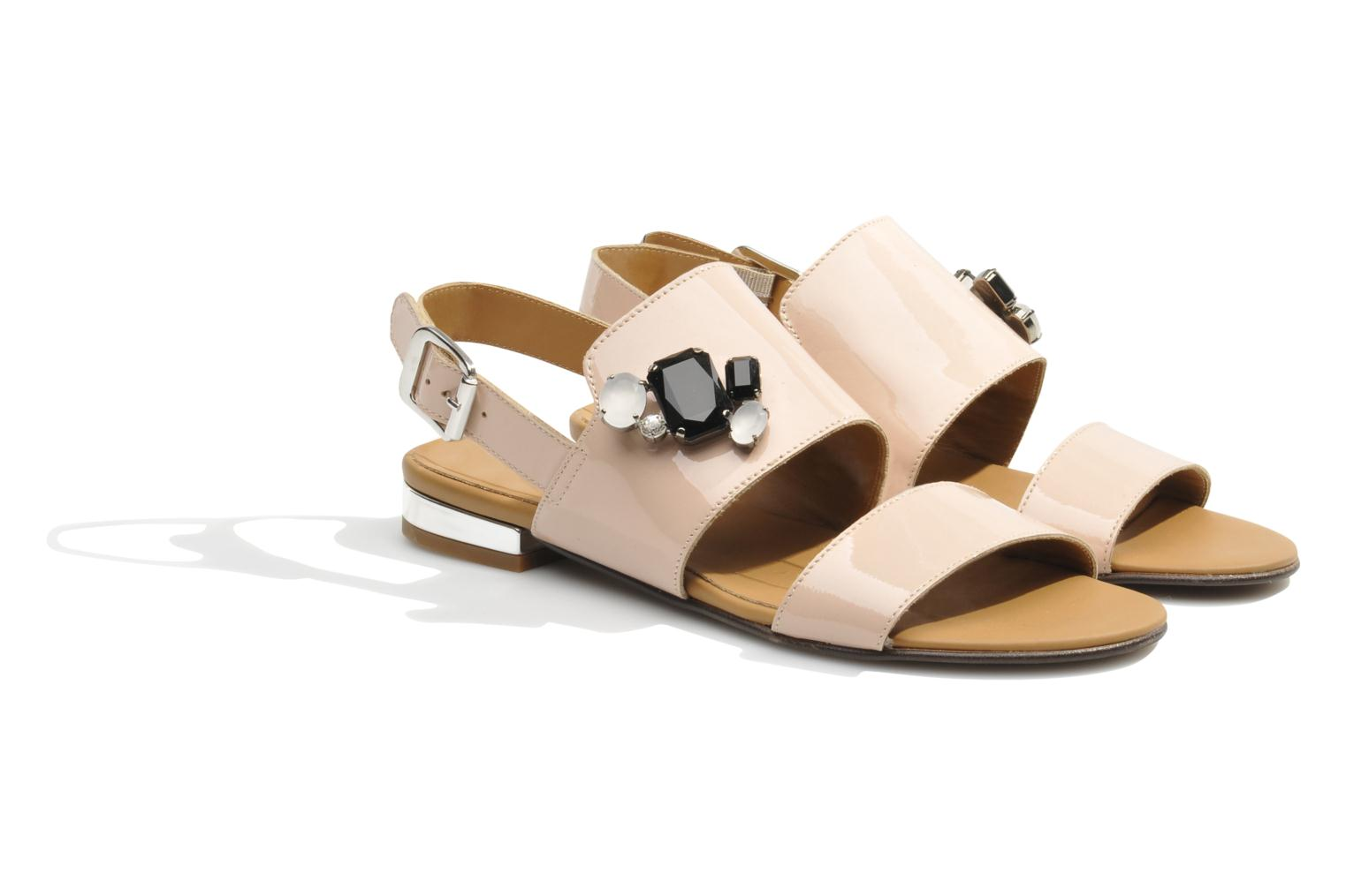 Sandals Made by SARENZA Chamallow #2 Beige back view