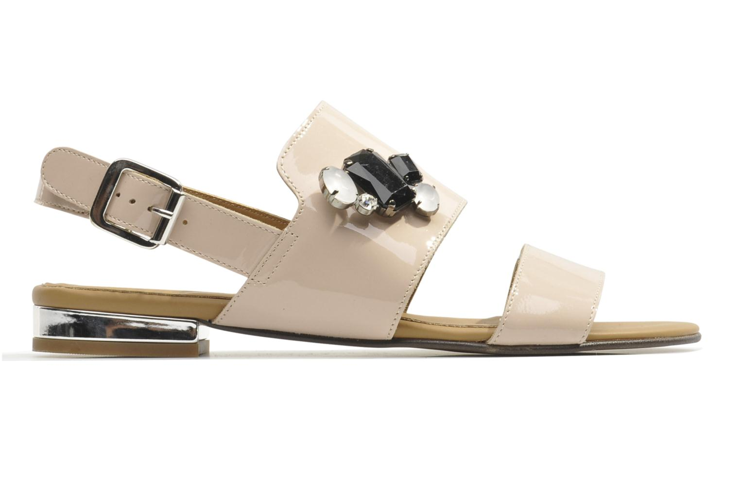 Sandals Made by SARENZA Chamallow #2 Beige detailed view/ Pair view