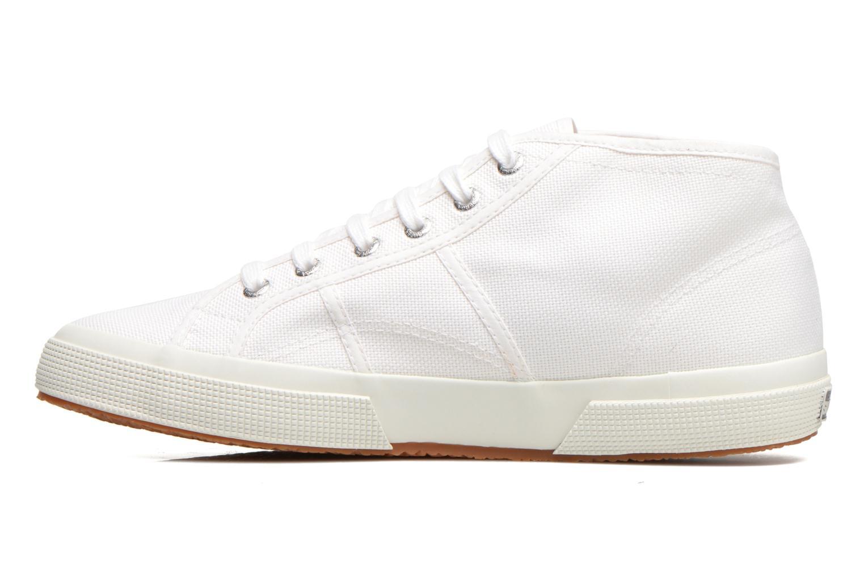 Sneakers Superga 2754 Cotu Mid top M Wit voorkant