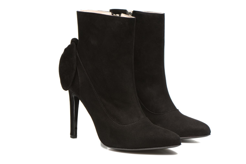 Bottines et boots Carven Elegant Noir vue 3/4