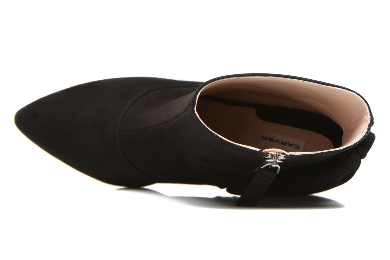 Bottines et boots Carven Elegant Noir vue gauche