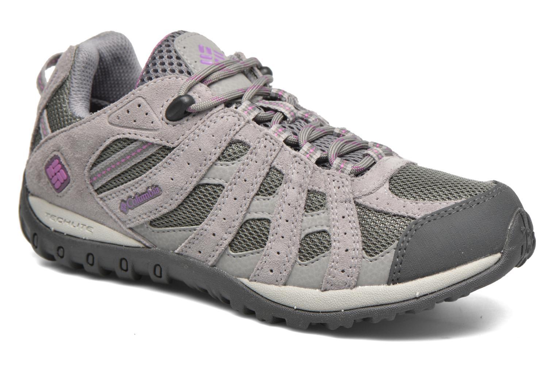 Zapatos de hombres y mujeres casual de moda casual mujeres Columbia Redmond Waterproof (Gris) - Zapatillas de deporte en Más cómodo bf0639