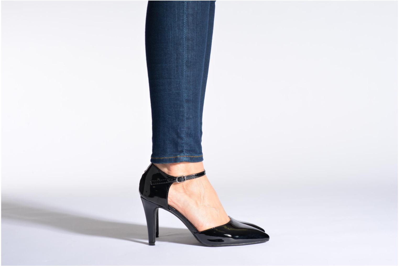 Escarpins I Love Shoes Kifiesta Noir vue bas / vue portée sac