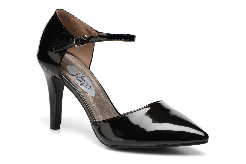 Escarpins I Love Shoes Kifiesta Noir vue détail/paire