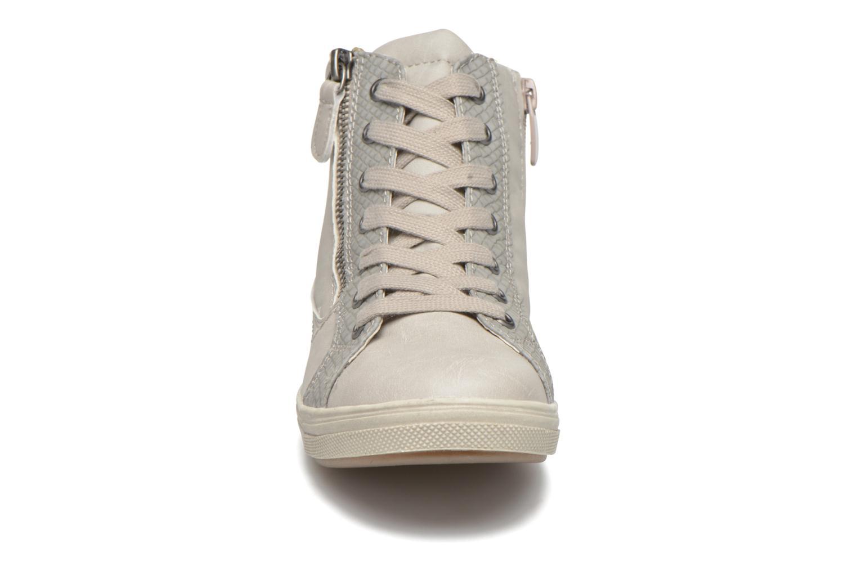 Baskets I Love Shoes Susket Beige vue portées chaussures