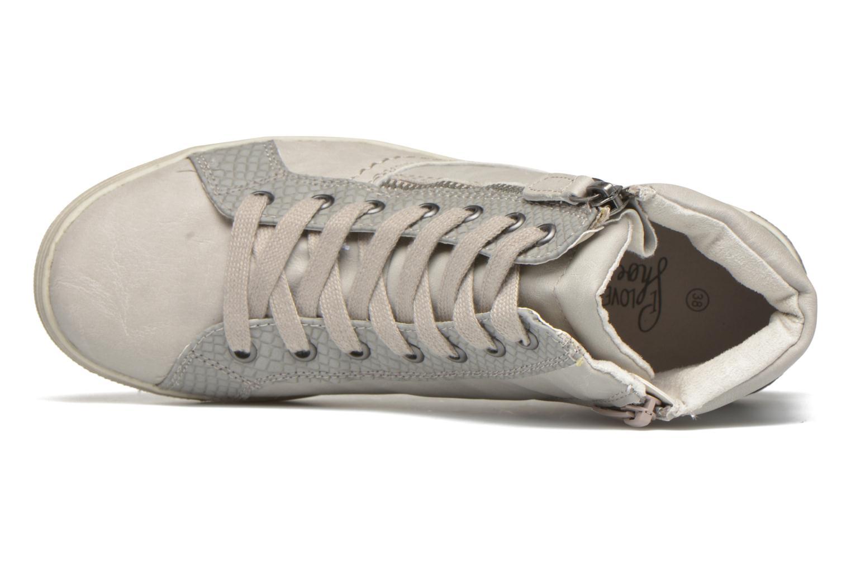 Sneaker I Love Shoes Susket beige ansicht von links