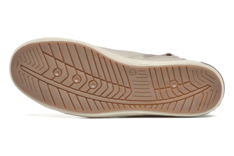 Baskets I Love Shoes Susket Beige vue haut