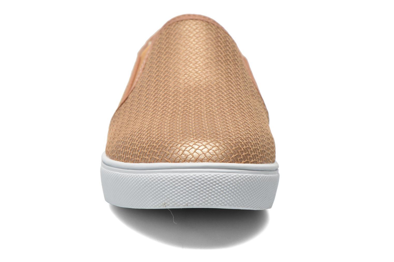 Baskets Le temps des cerises Ava Or et bronze vue portées chaussures