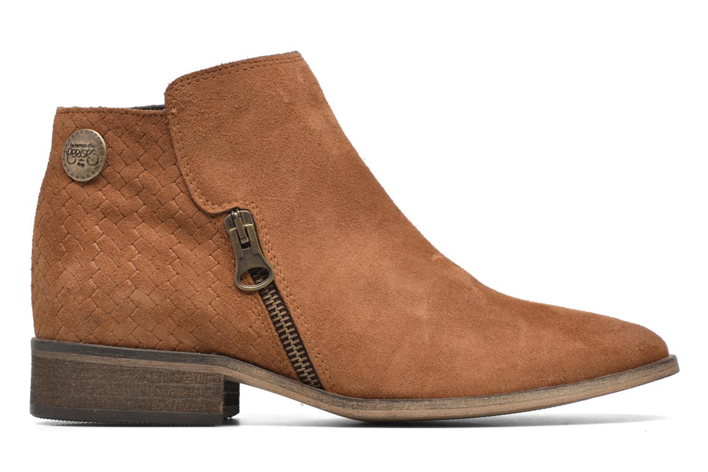 Stiefeletten & Boots Le temps des cerises Celeste braun ansicht von hinten