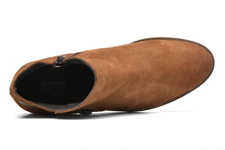 Bottines et boots Le temps des cerises Celeste Marron vue gauche