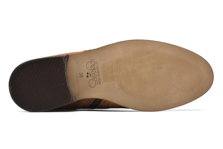 Stiefeletten & Boots Le temps des cerises Celeste braun ansicht von oben