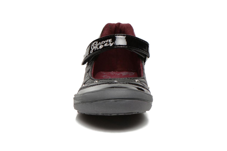 Ballerines I Love Shoes Sabelle Noir vue portées chaussures