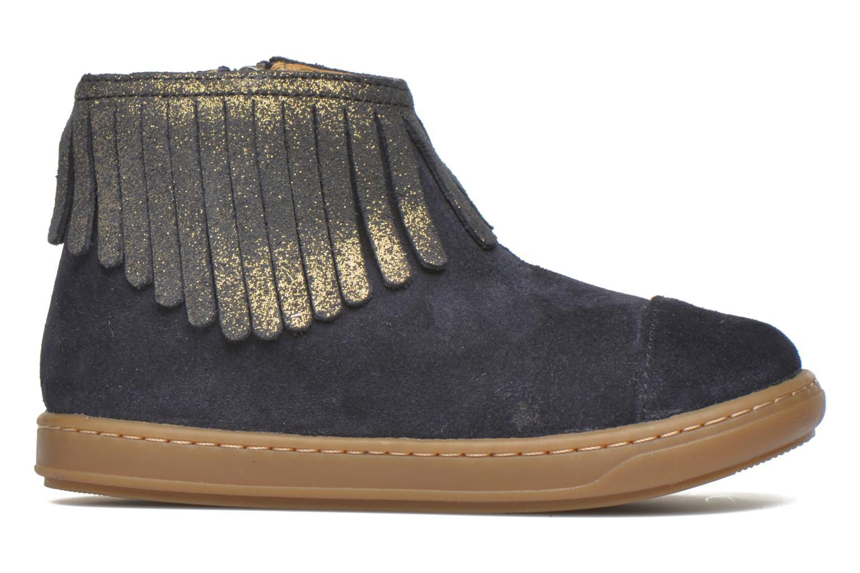 Bottines et boots Shoo Pom Bouba Fringe Bleu vue derrière