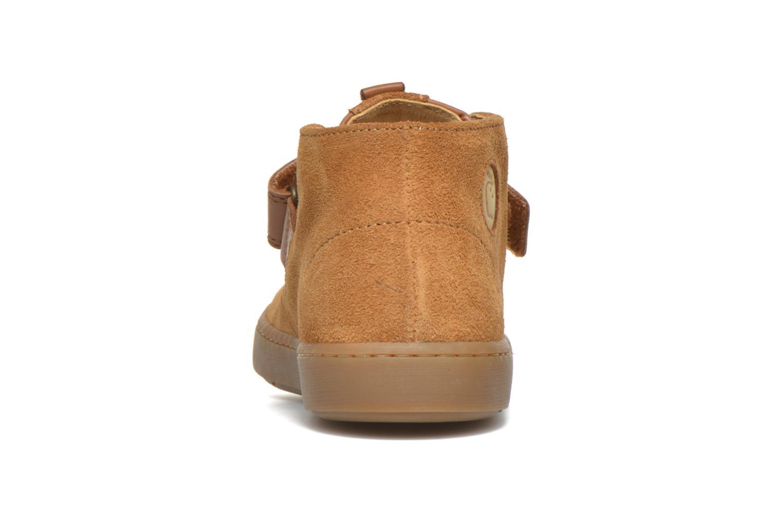 Schoenen met klitteband Shoo Pom Play Desert Vel Bruin rechts