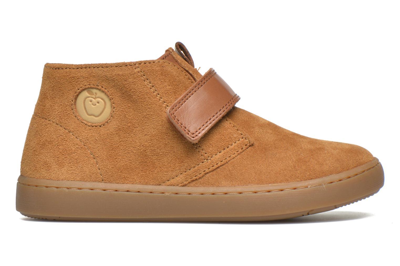 Chaussures à scratch Shoo Pom Play Desert Vel Marron vue derrière