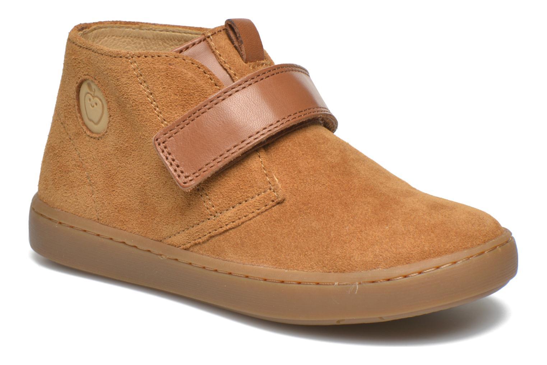 Chaussures à scratch Shoo Pom Play Desert Vel Marron vue détail/paire