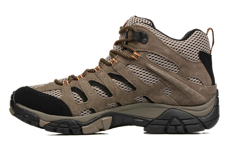 Chaussures de sport Merrell Moab Mid Gtx Marron vue face