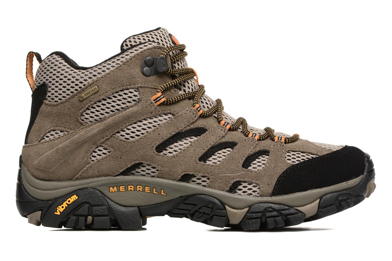 Chaussures de sport Merrell Moab Mid Gtx Marron vue derrière