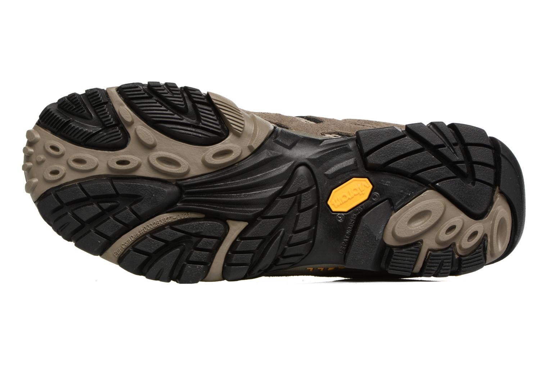 Chaussures de sport Merrell Moab Mid Gtx Marron vue haut