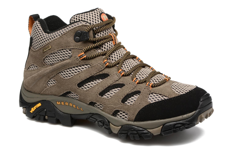 Chaussures de sport Merrell Moab Mid Gtx Marron vue détail/paire