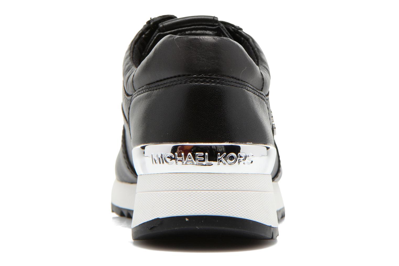 Sneakers Michael Michael Kors Allie Trainer Nero immagine destra