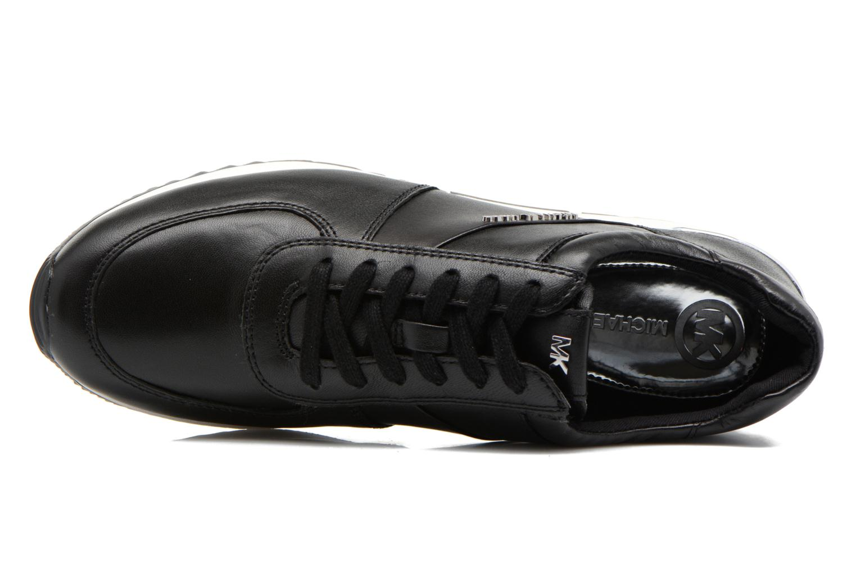 Sneakers Michael Michael Kors Allie trainer Nero immagine sinistra