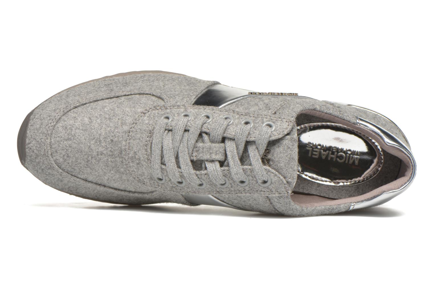 Baskets Michael Michael Kors Allie trainer Gris vue gauche