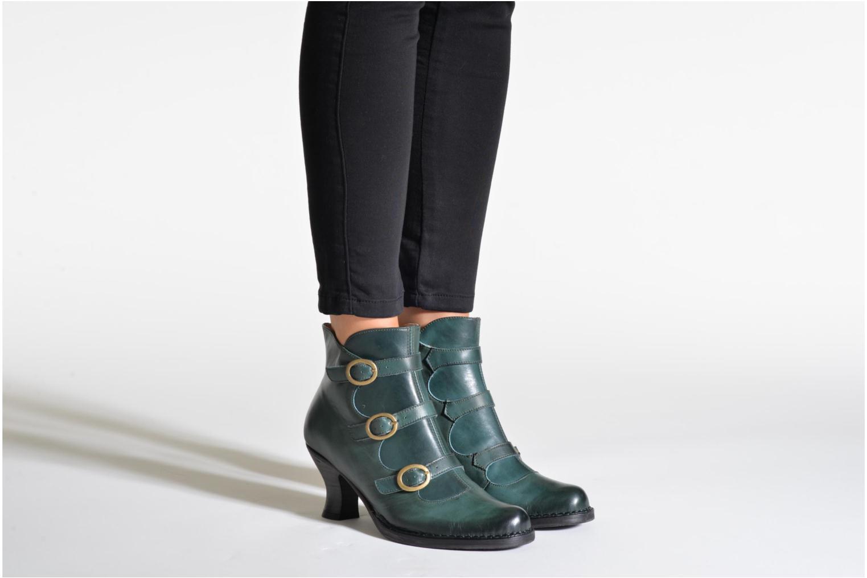 Bottines et boots Neosens Rococo S903 Noir vue bas / vue portée sac