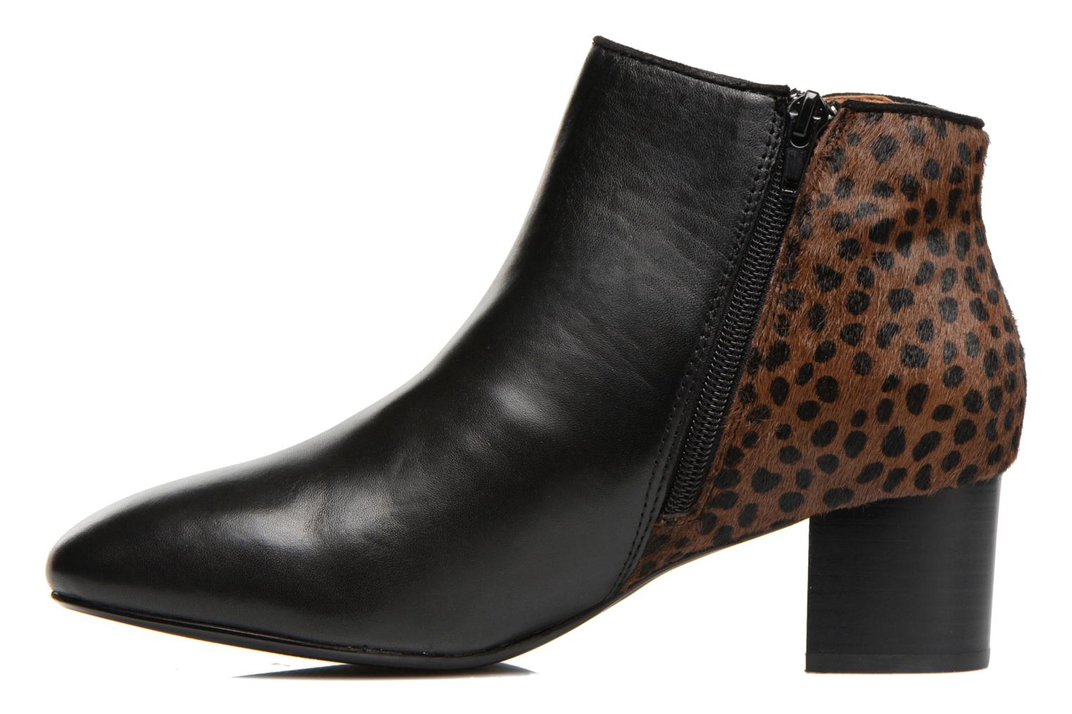 Ankle boots Mellow Yellow Tamarine Black front view