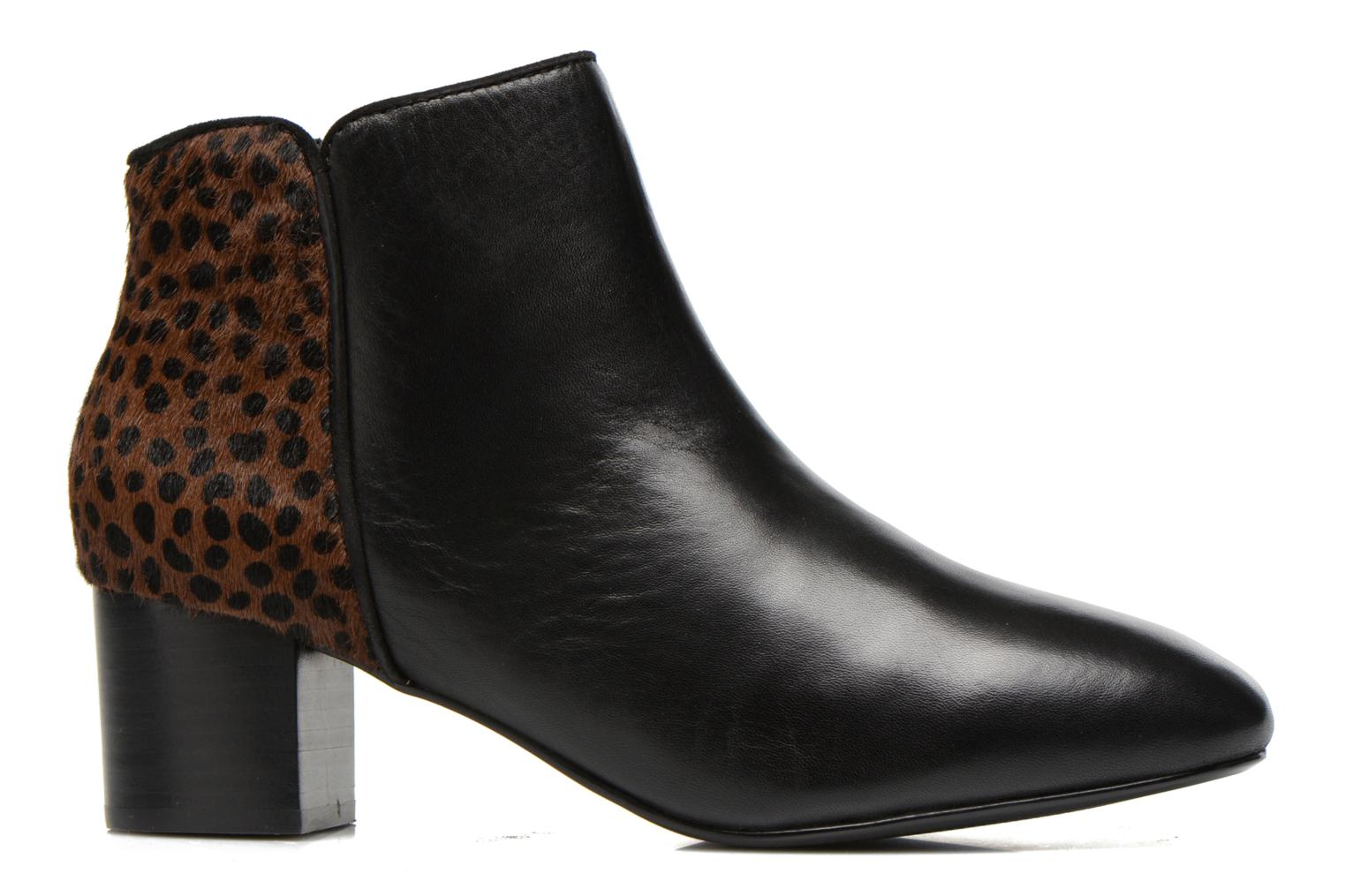 Ankle boots Mellow Yellow Tamarine Black back view