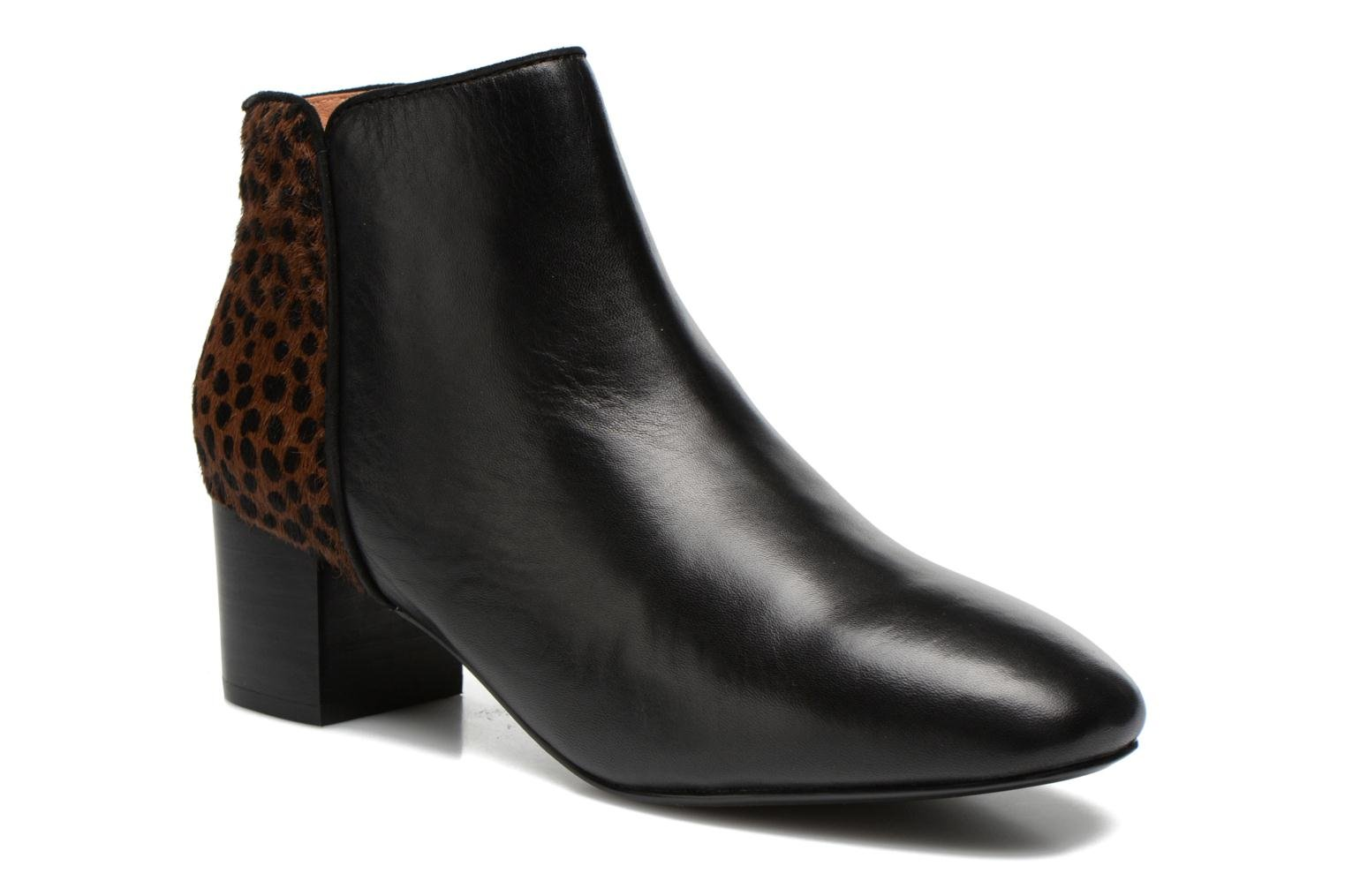 Ankle boots Mellow Yellow Tamarine Black detailed view/ Pair view