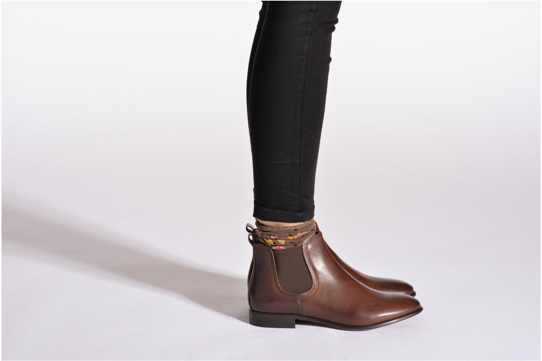 Stiefeletten & Boots Georgia Rose Anillou schwarz ansicht von unten / tasche getragen