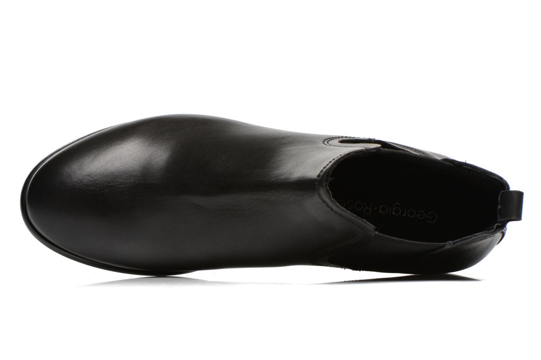 Bottines et boots Georgia Rose Anillou Noir vue gauche
