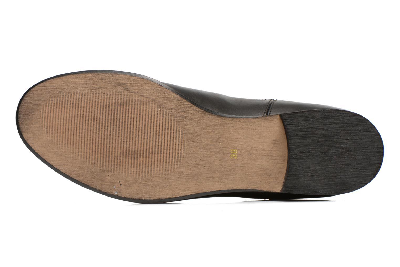 Bottines et boots Georgia Rose Anillou Noir vue haut