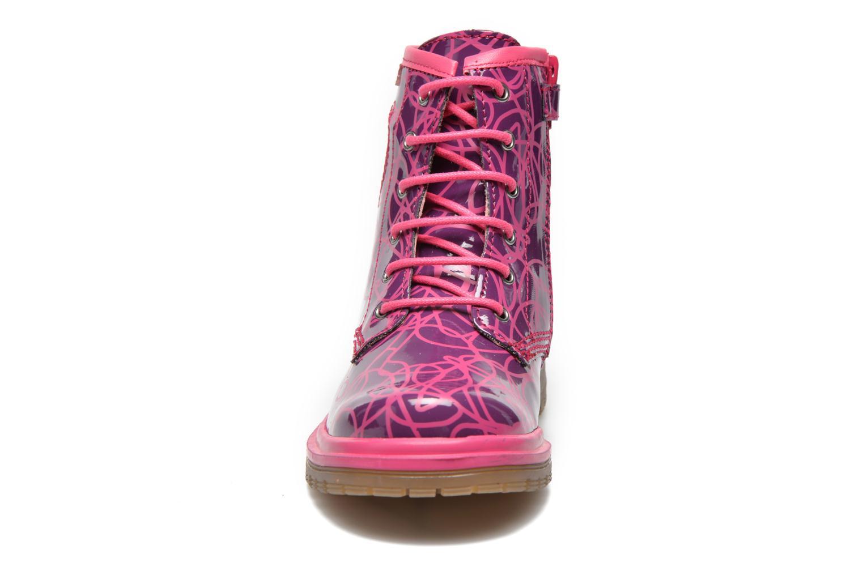 Bottines et boots Agatha Ruiz de la Prada Miss Agatha Violet vue portées chaussures