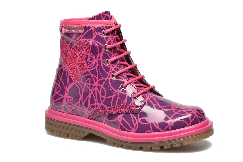 Ankle boots Agatha Ruiz de la Prada Miss Agatha Purple detailed view/ Pair view