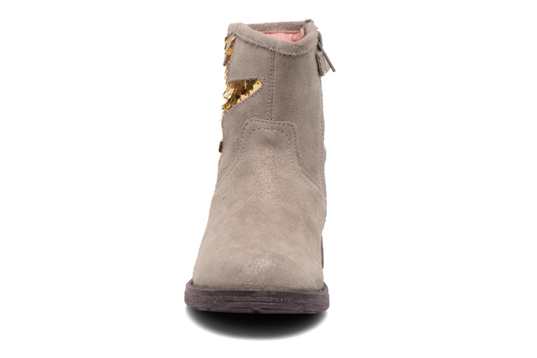 Bottines et boots Agatha Ruiz de la Prada Vagabunda Agatha Beige vue portées chaussures