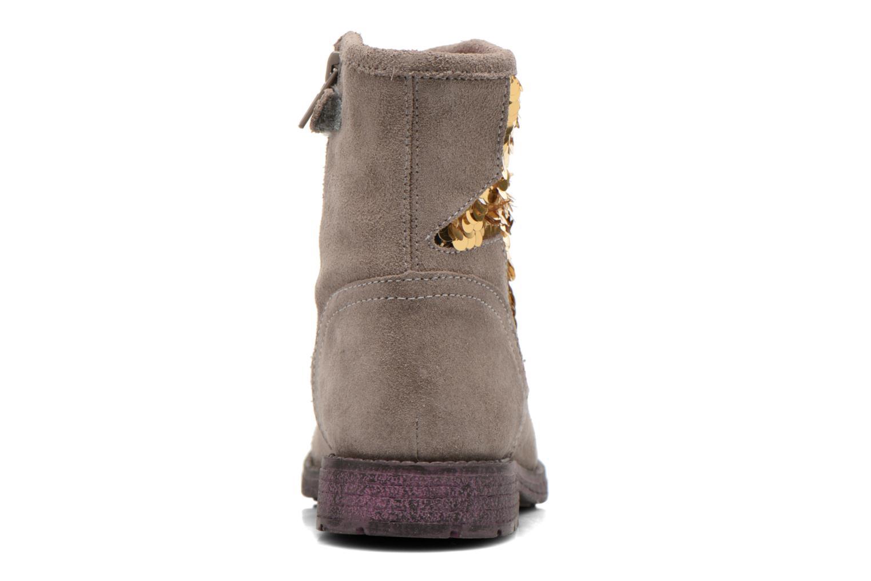 Bottines et boots Agatha Ruiz de la Prada Vagabunda Agatha Beige vue droite