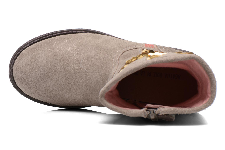 Stiefeletten & Boots Agatha Ruiz de la Prada Vagabunda Agatha beige ansicht von links