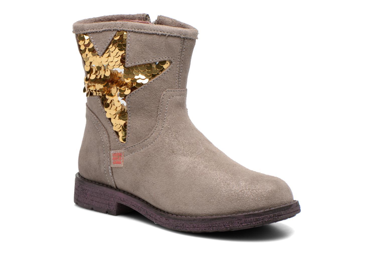 Bottines et boots Agatha Ruiz de la Prada Vagabunda Agatha Beige vue détail/paire