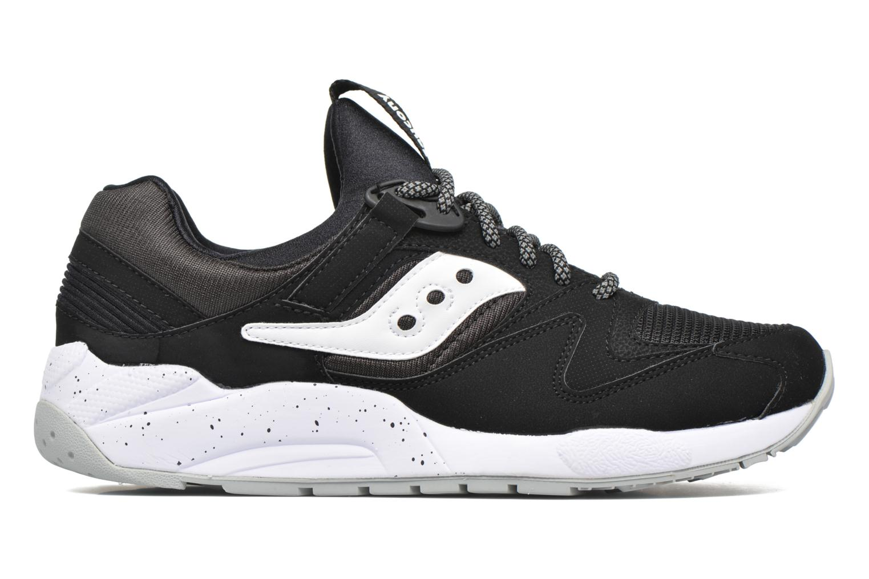 Sneaker Saucony Grid 9000 schwarz ansicht von hinten