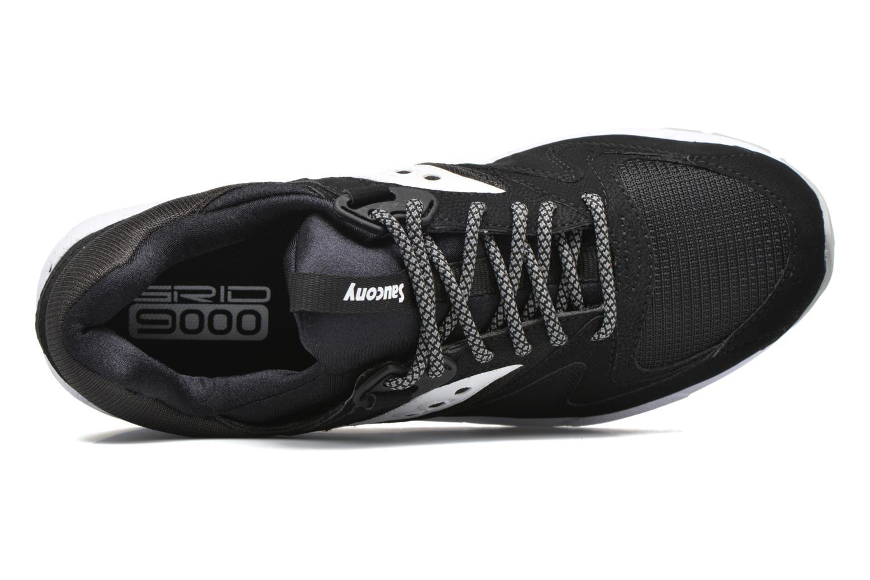 Sneaker Saucony Grid 9000 schwarz ansicht von links