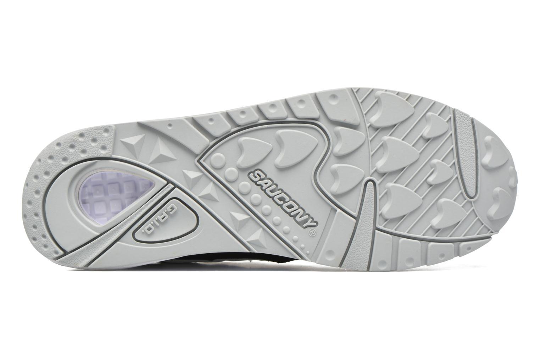 Sneaker Saucony Grid 9000 schwarz ansicht von oben