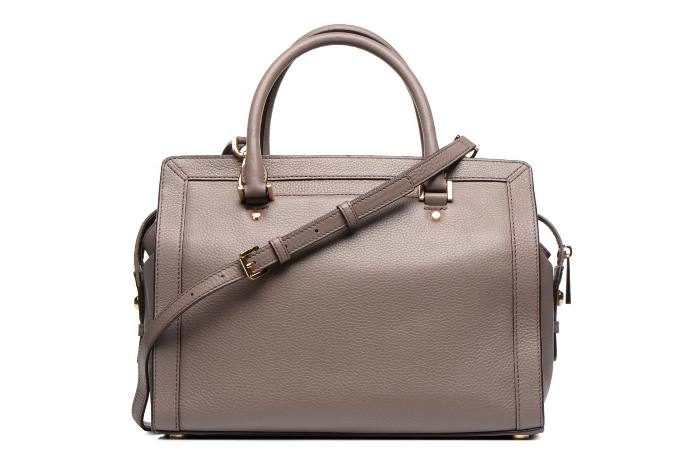 Handtaschen Michael Michael Kors COLLINS LG Satchel grau ansicht von vorne