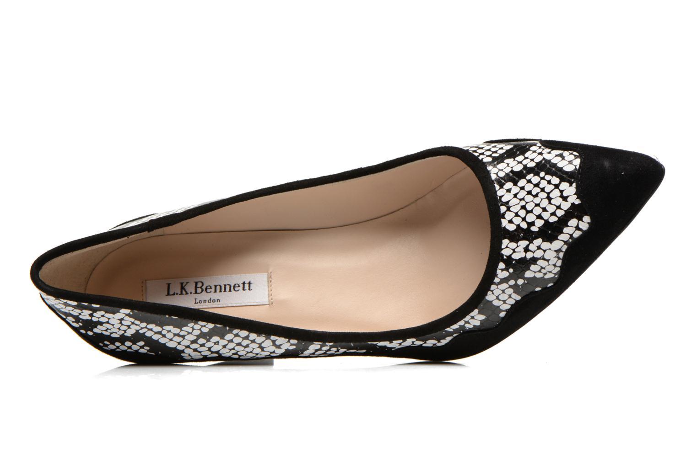 Zapatos de tacón L.K. Bennett Blair Negro vista lateral izquierda